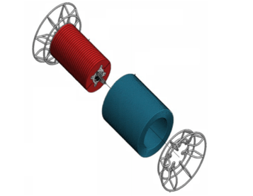 Engineering design of the floatation spool prototype (WHOI).