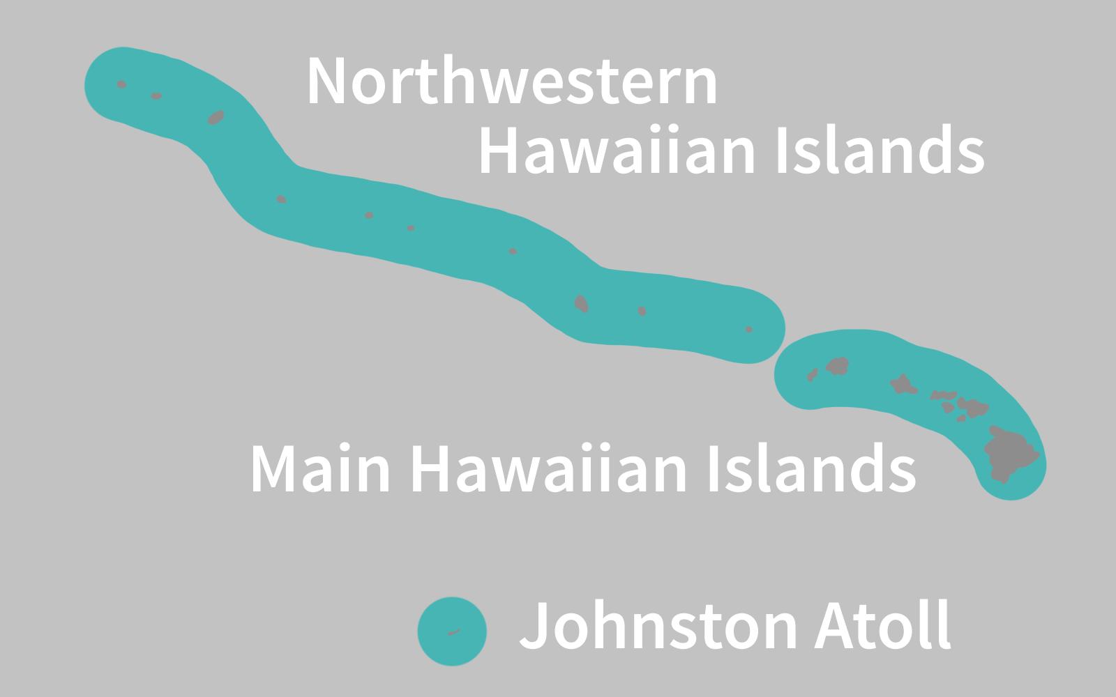 Hawaiian Monk Seal Range Map