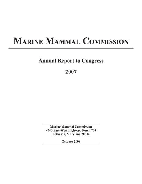 Cover of MMC's 2007 Annual Report