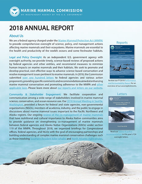 Cover of MMC's 2018 Annual Report